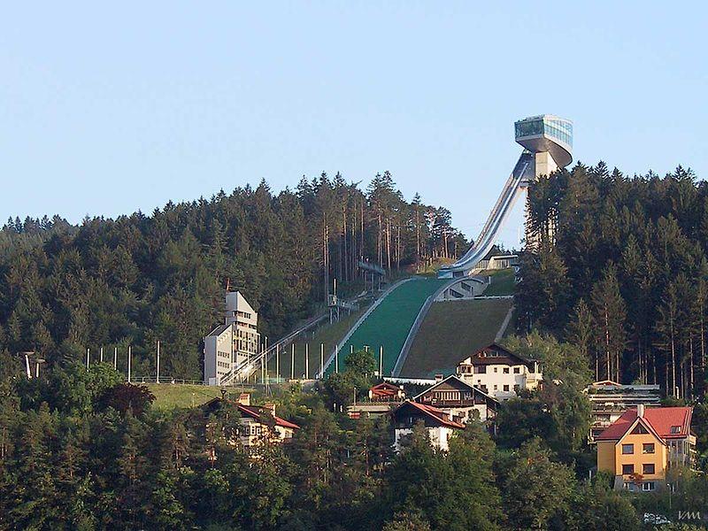 Инсбрук. Олимпийский трамплин «Бергизель». Автор: Veit Mueller Фото: ru.wikipedia.org