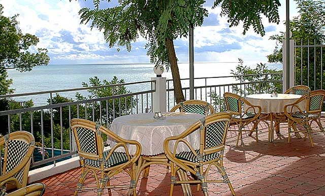 Вид из кафе. Фото: www.water-loo.ru