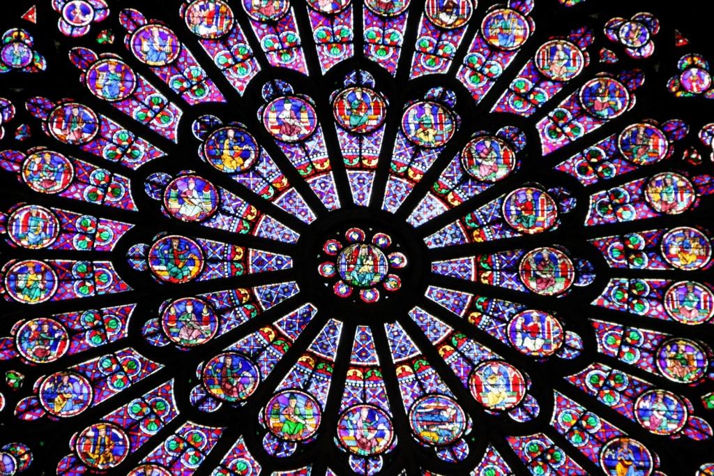 Окно на центральным порталом. Автор: Martie Swart. Фото:  www.flickr.com