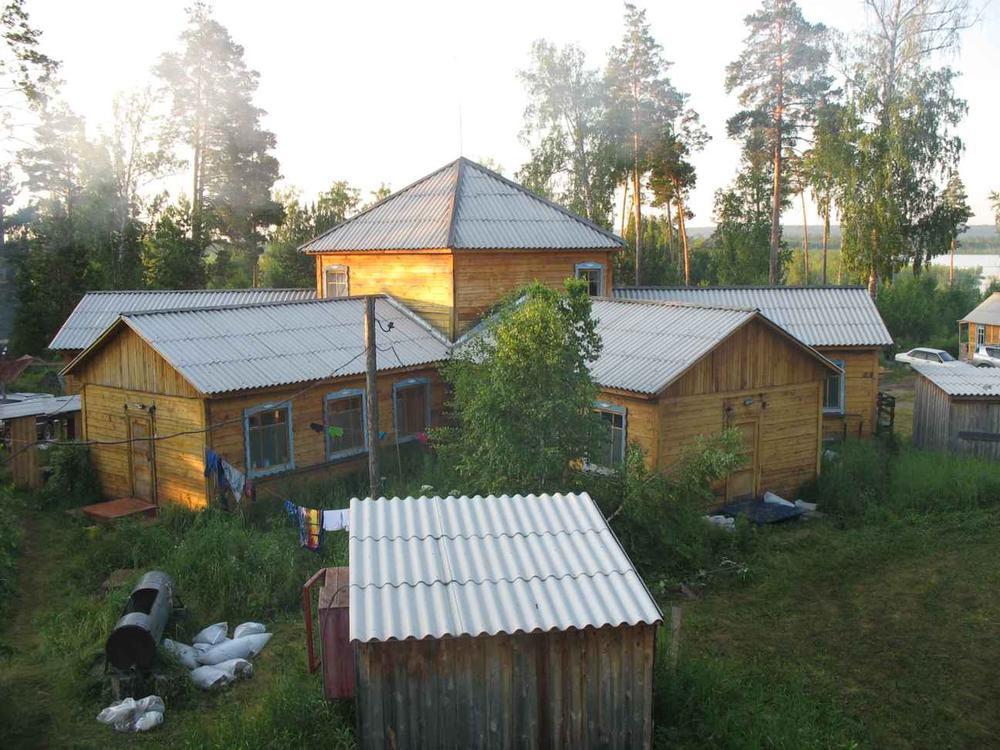 Домики для проживания. Фото: plachino.narod.ru