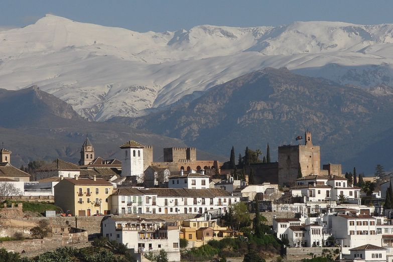 Виды Гранады. Фото с сайта  www.arrivo.ru