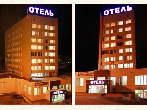 Фасад здания отеля. Фото: hotelural.biz