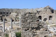 Амфитеатр в Сиде (Side Amphitheatre)