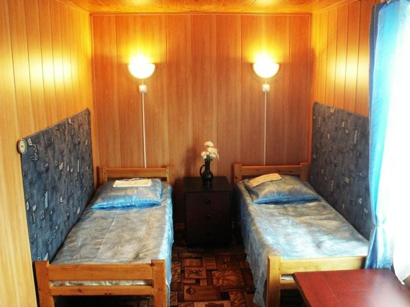Спальня в коттедже. Фото: www.naolhon.ru