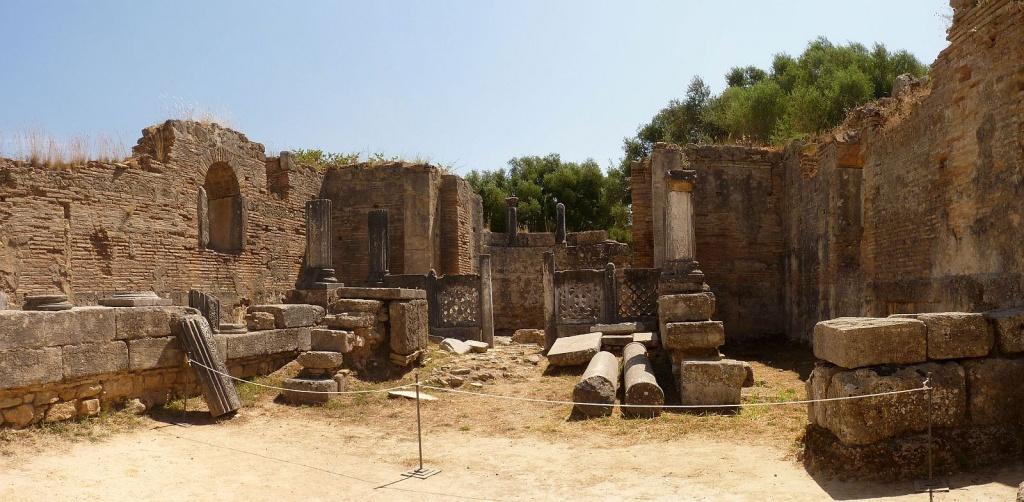 Мастерская Олимпия Фидий и раннехристианские базилики. Автор: Ronny Siegel. Фото:  www.flickr.com