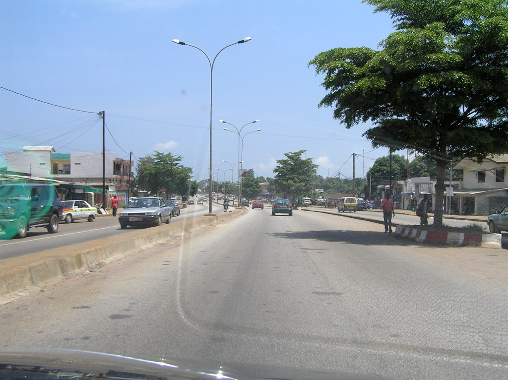 Улицы в Гвинее. Автор: Jeff Attaway. Фото:  www.flickr.com