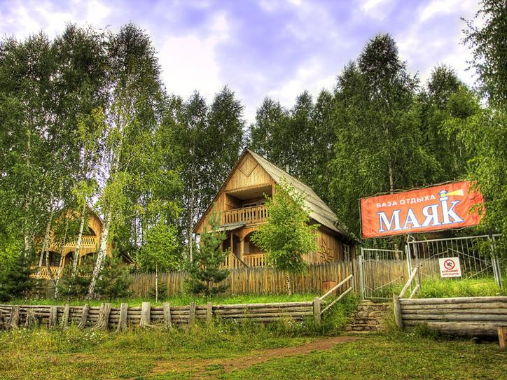 База отдыха «Маяк». Фото: www.bomayak.ru