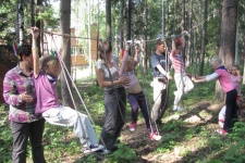 Семейный спортивно-оздоровительный лагерь в Абзаково