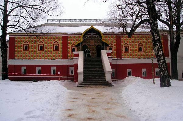 Кострома. Ипатьевский монастырь. Палаты Михаила Романова, где он проживал до восхождения на престол.