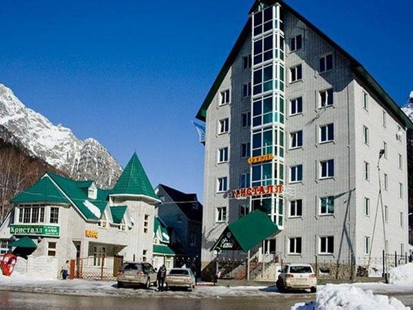 Гостиница «Кристалл». Фото: www.kristall-dombay.ru