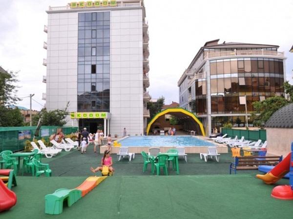 Отель «Экодом-Адлер». Фото: www.ekodom-adler.ru