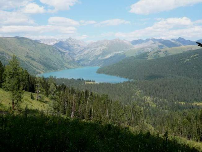 Вид на Тайменье озеро. Фото: Антон Тартынов   www.turistka.ru