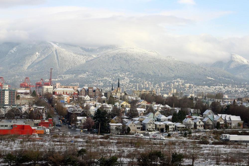 Зимний Ванкувер. Фото:  «Тонкости туризма»