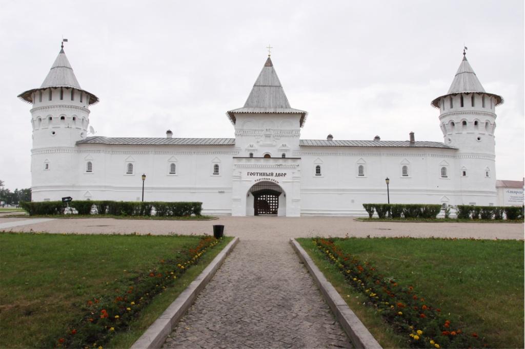Визитно-гостевой комплекс «Гостиный двор» вид с Красной площади