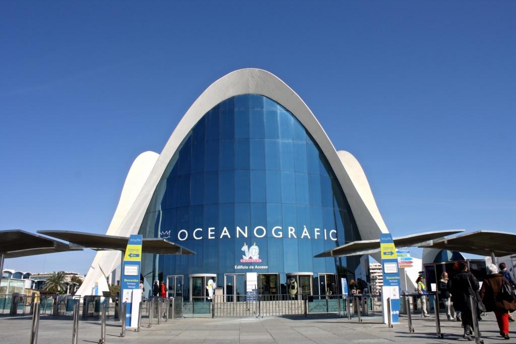 L'Oceanogràfic. Автор: Trevor Huxham. Фото:  www.flickr.com