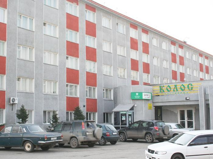 Фасад здания гостиницы. Фото: hotel-kolos.ru
