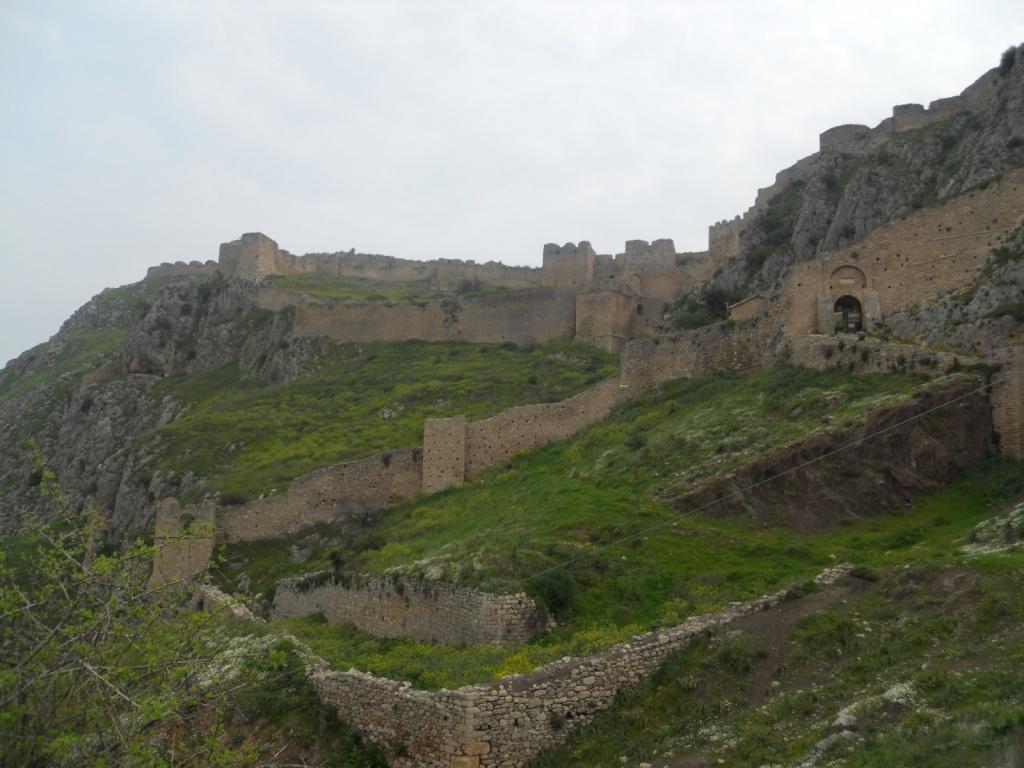 Крепость Акрокоринф. Автор: Erik Daniel Drost. Фото:  www.flickr.com