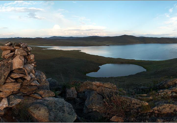 Озеро Нуку-нур. Автор: Сазонов Д.  nature.baikal.ru