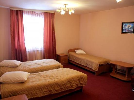 3-х местный номер в гостиничном комплексе. Фото: mana24.ru