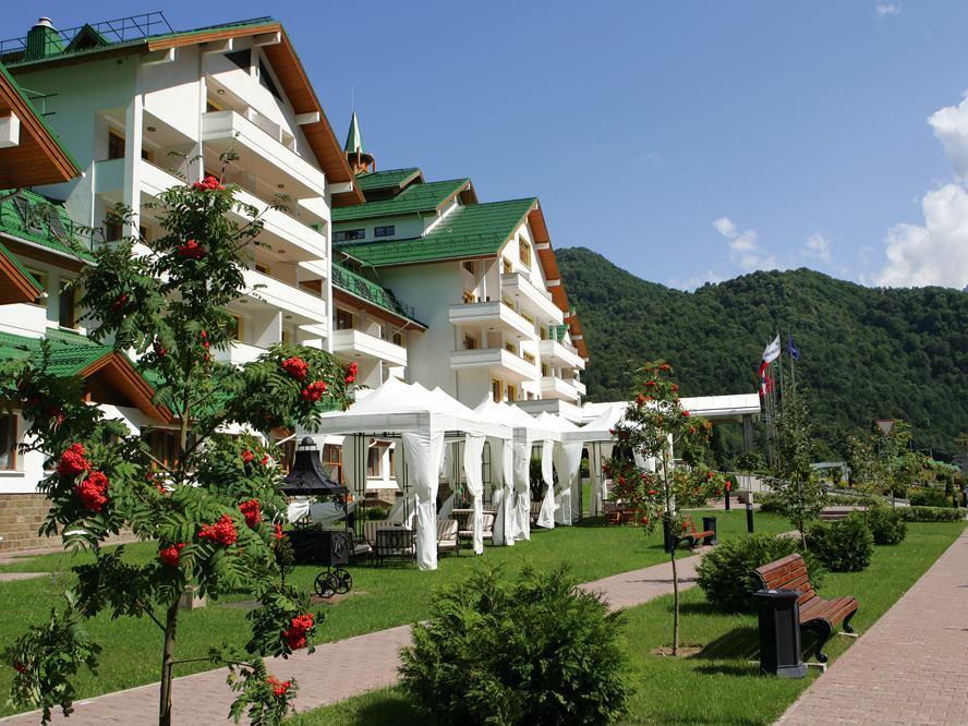 Отель «Гранд Отель Поляна». Фото: www.facebook.com/grandhotelpolyana