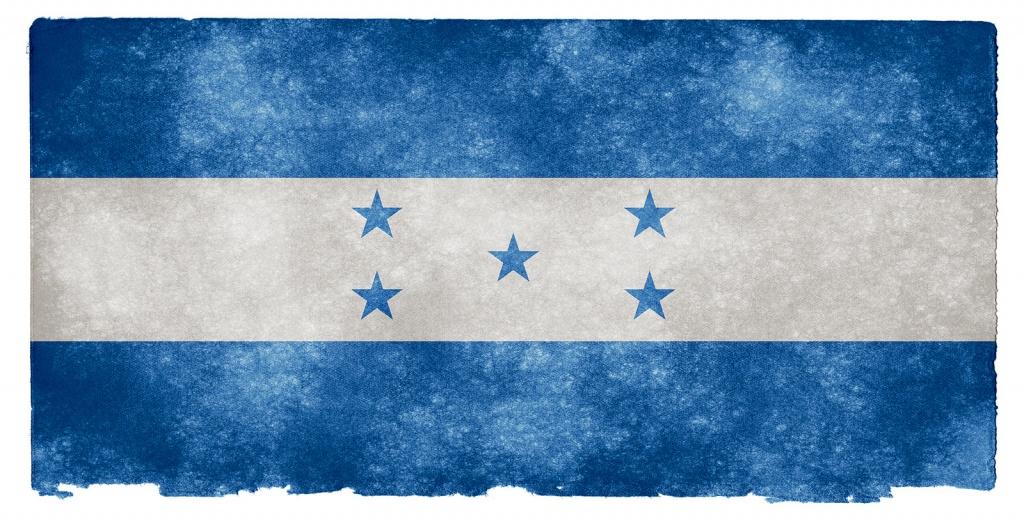 Флаг Гондураса. Автор: Free Grunge Textures - www.freestock.ca. Фото:  www.flickr.com