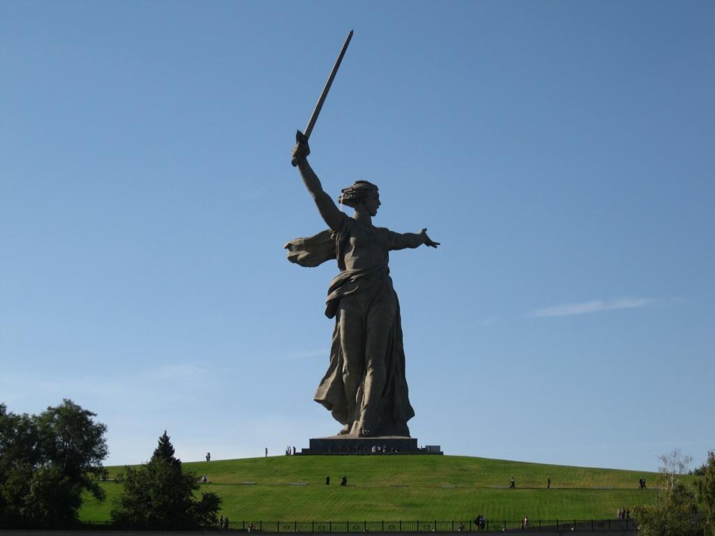 Монумент «Родина-мать зовет!». Автор: Mark Levisay. Фото:  www.flickr.com