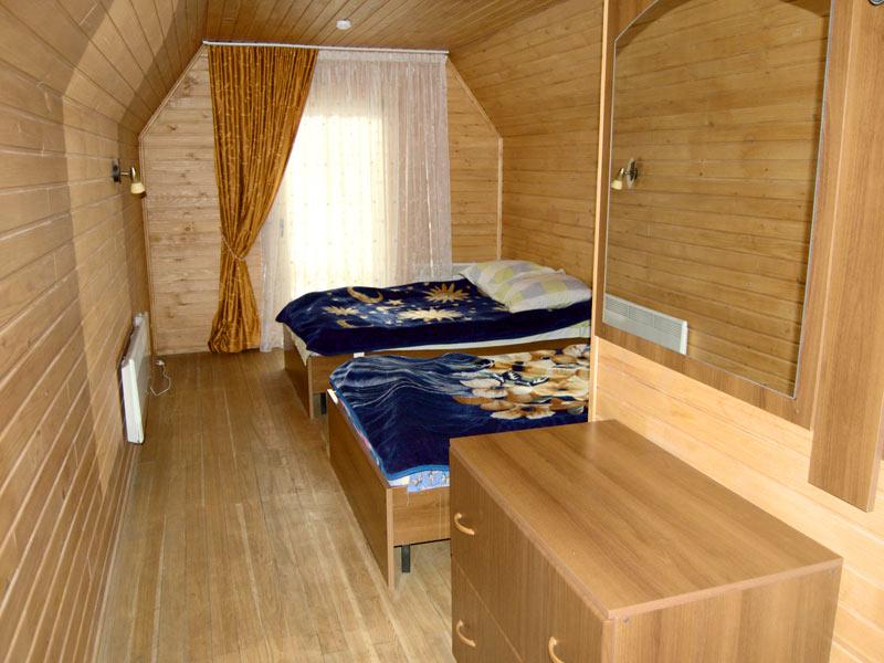 Комната в коттедже. Фото: www.turbazamana.ru