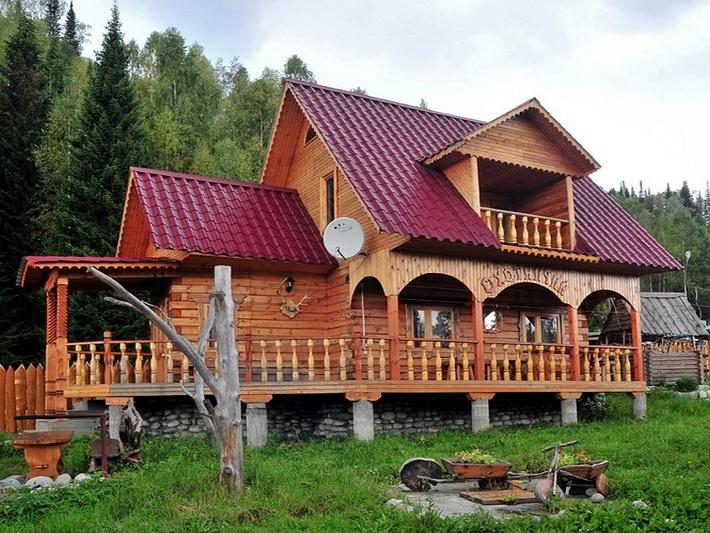 Коттедж «Охотничий». Фото: lebtur.ru