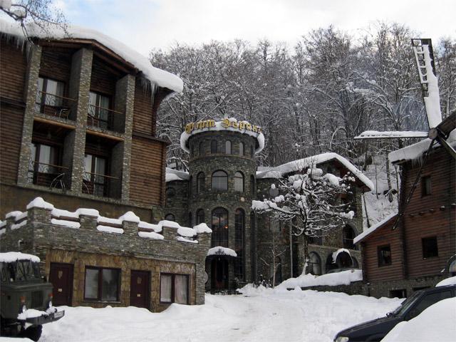 Гостиничный комплекс «Форт Эврика». Фото: fortevrika.ru