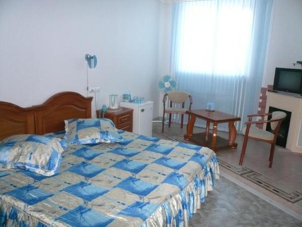 Голубой номер. Фото: www.hotelintomsk.ru