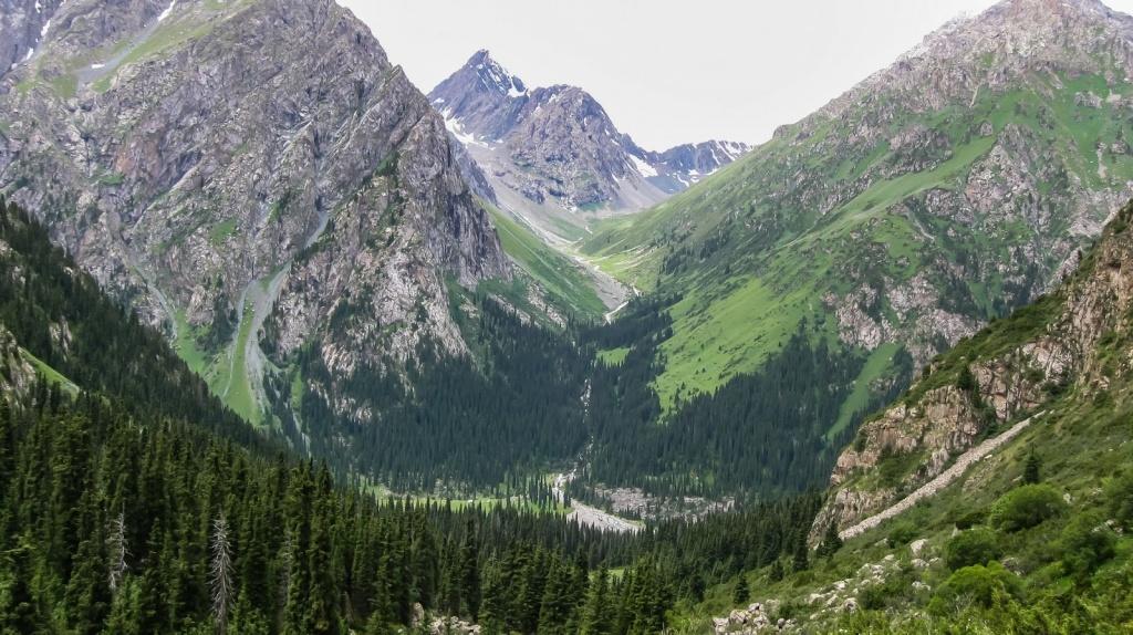 Место расположения бывшего альплагеря Каракол. Автор фото: Денис Емелин
