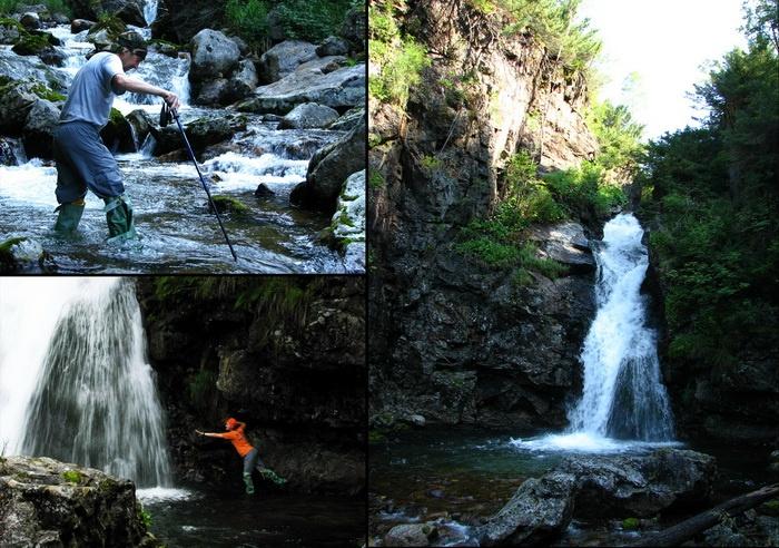 "Водопад ""Грохотун"" на р. Громотуха. Фото: denis-emelin.coolaps.com"