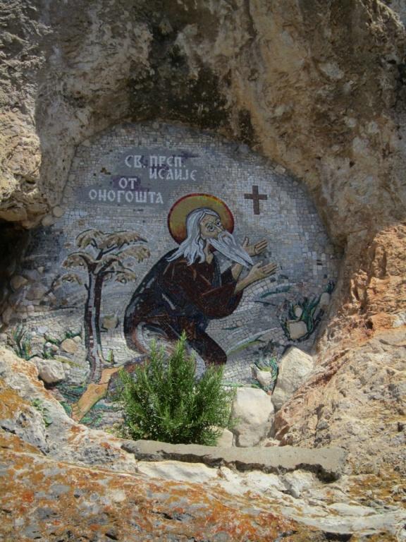 Икона в скале. Автор: Dickelbers. Фото:  commons.wikimedia.org