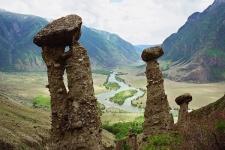 Каменные грибы, Урочище Аккурум