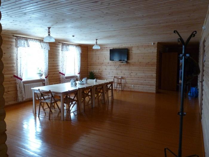 Столовая в корпусе «Комфорт». Фото: www.tb-skaz.ru