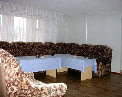 Столовая на третьем этаже. Фото: www.alparus.ru