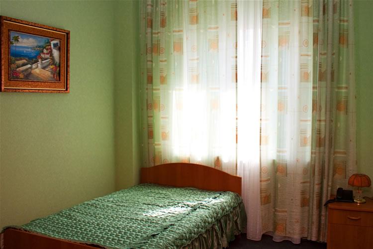 Одноместный номер. Фото: ufontana.hop.ru