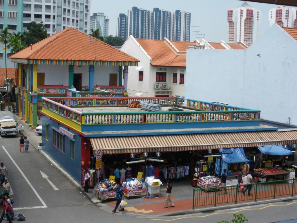 Здание в индийском районе. Автор: morganlopez. Фото:  www.flickr.com