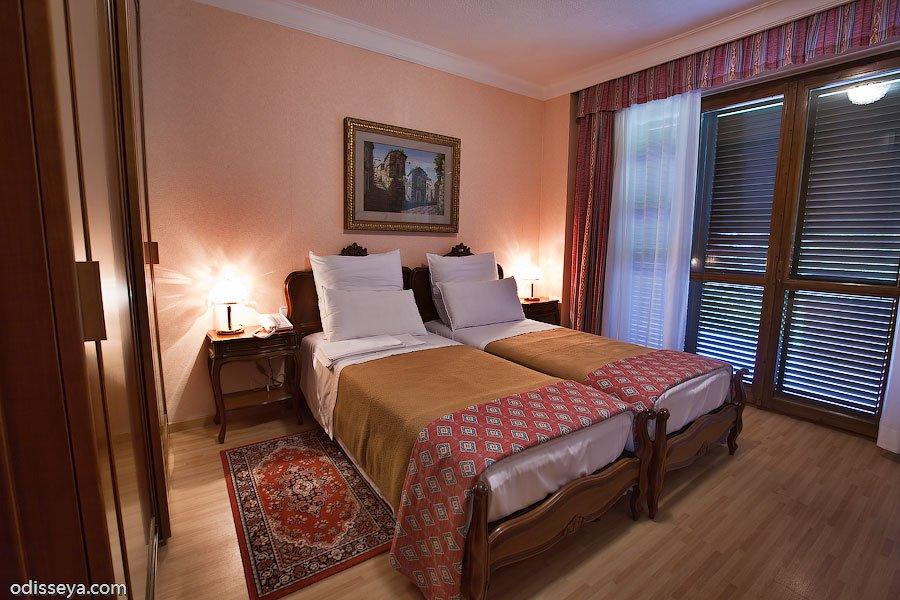 Спальня в коттедже. Фото: www.odisseya.com