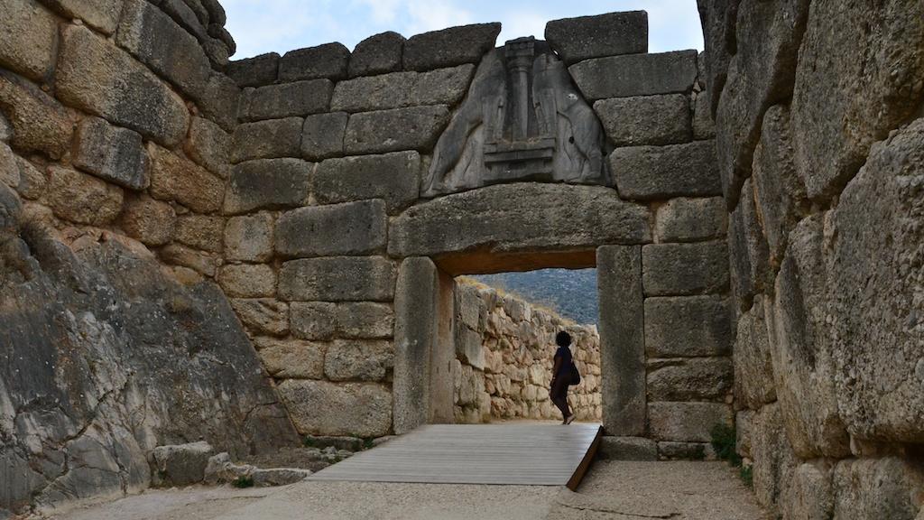 Львиные ворота. Автор: B L. Фото:  www.flickr.com