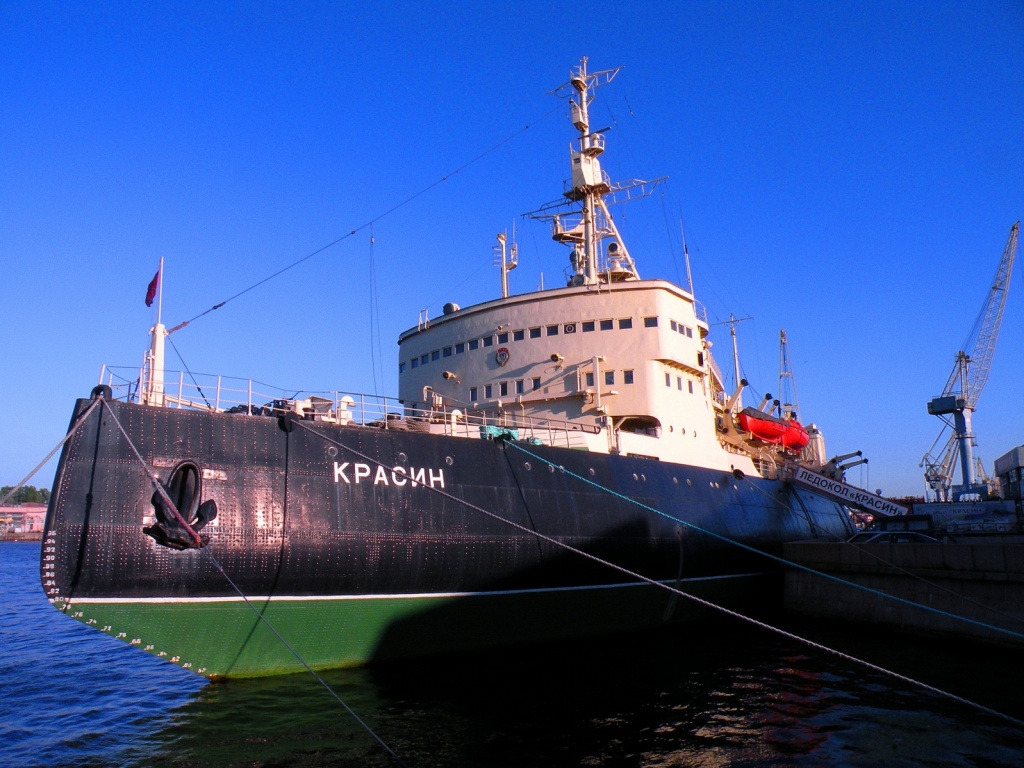 Ледокол Красин. Автор: Витольд Муратов. Фото:  commons.wikimedia.org