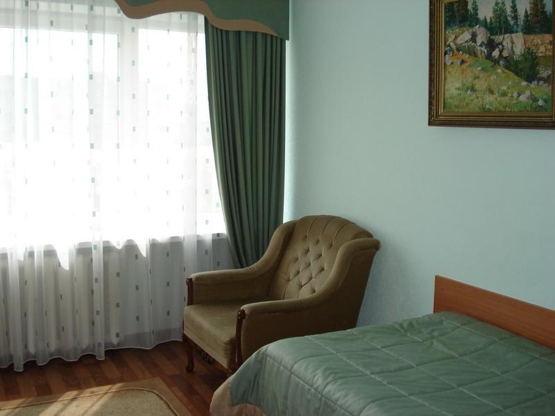 Одноместный стандартный номер. Фото: www.hotelkuzbass.ru