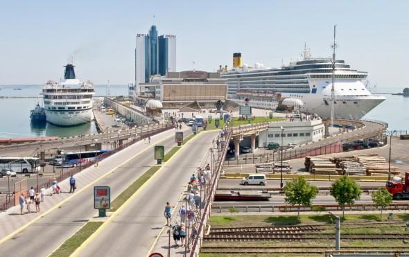 Одесский пассажирский порт. Фото: www.port.odessa.ua