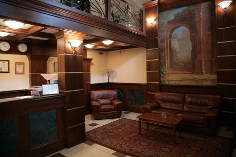 Холл. Фото: www.park-hotel-graal.ru