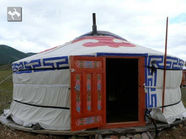 Монгольская юрта   baikal-iwf.ru