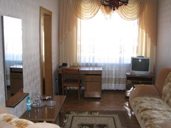 Одноместный номер высшей категории. Фото: www.hotel-1.ru