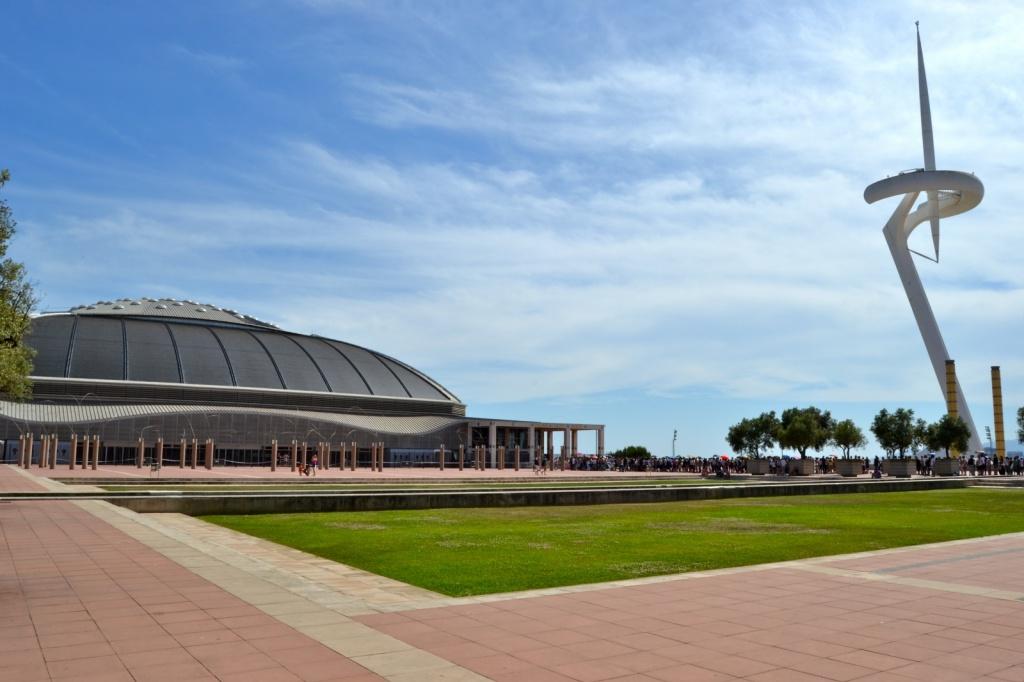 Дворец Спорта Сант Жорди. Автор: Oh-Barcelona.com. Фото:   wikimedia.org