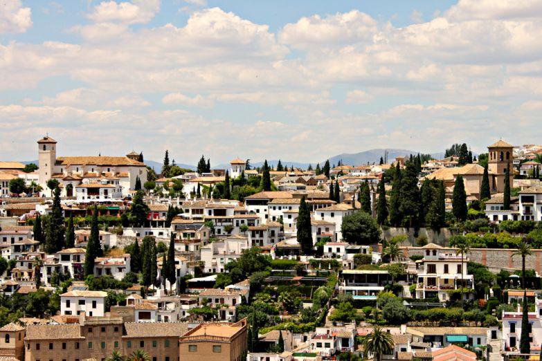 Панорама Гранады. Фото с сайта  www.arrivo.ru