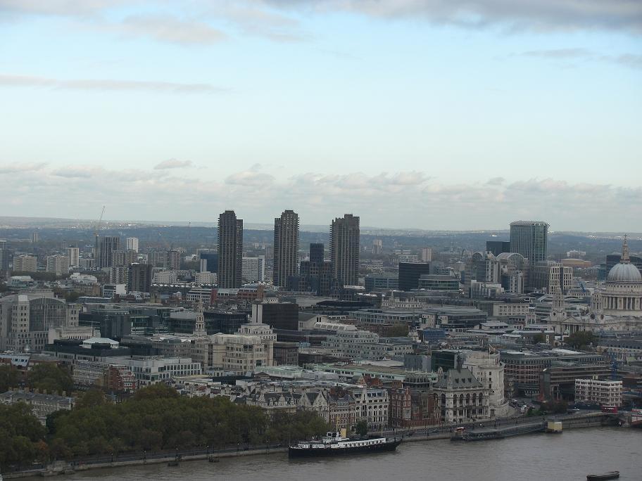 Панорама на Лондон.  Фото:  tonkosti.ru