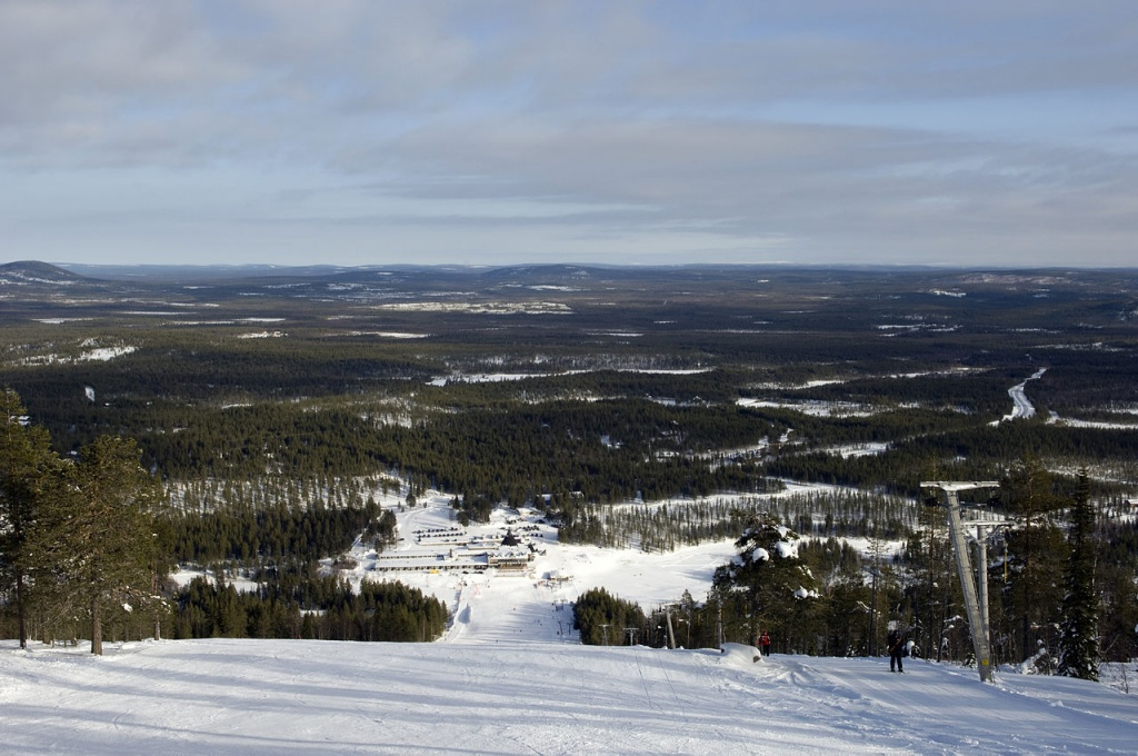 Вид с вершины сопки Суоми. Автор Lauri Silvennoinen. Фото:  wikimedia.org